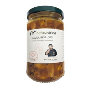 Borlotti al sughetto di pomodorino – NATURAVICINA