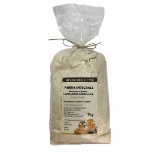 Farina Integrale di grano tenero – MULINO DELLE CAVE