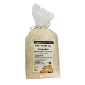 Farina di Semola di grano duro – MULINO DELLE CAVE