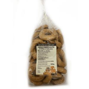 Taralli al Finocchietto con farina di solina 500g – MULINO DELLE CAVE