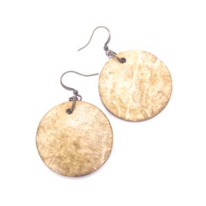 Orecchini in guscio di cocco – TAYA