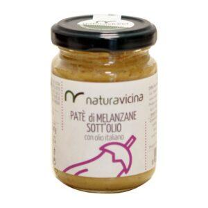 Paté di melanzane sott'olio – NATURAVICINA