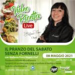 IL PRANZO DEL SABATO SENZA FORNELLI – VIDEORICETTA LIVE – Stefania Fiore Vegan Chef